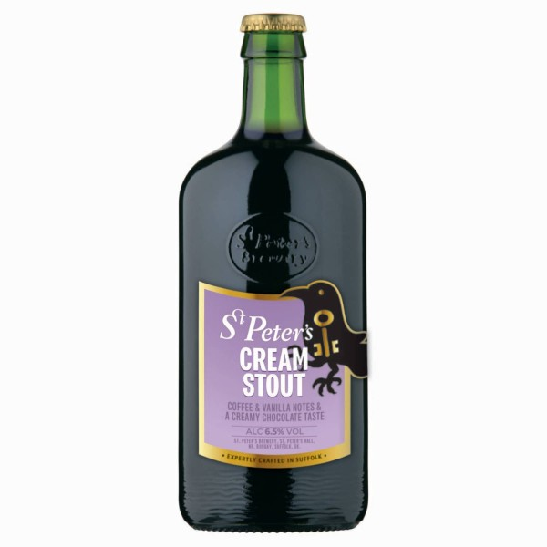 Special beer St. Peter's Cream Stout