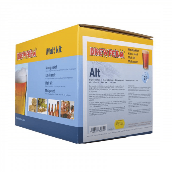 Maltkit Brewferm Alt For 20 Ltrs