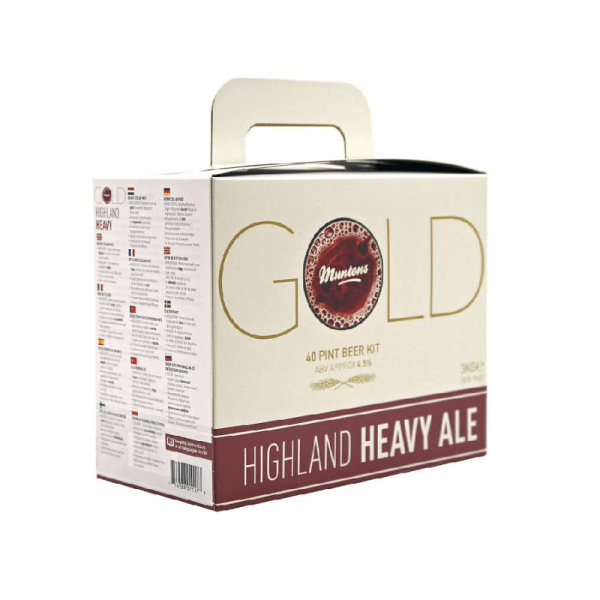 HEIMBRAUSET MUNTONS GOLD Highland Heavy Ale 3kg