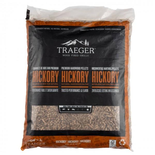 Traeger Smoker Pelletgrill FSC Hickory Pellets, 9kg