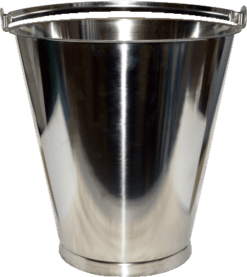 Stainless Steel Bucket 15 lt