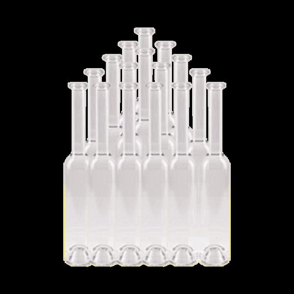 """Flasche """"Platin"""", weiß, 0,35 lt, Karton 15 Stk."""