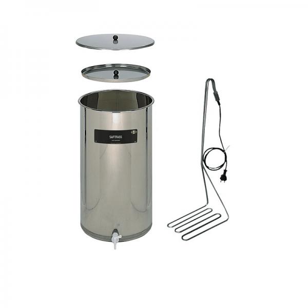 SPEIDEL - JUICE KEG - SET, stainless steel, 170 l