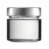Konservenglas - Factum 212 ml mit Deckel silber