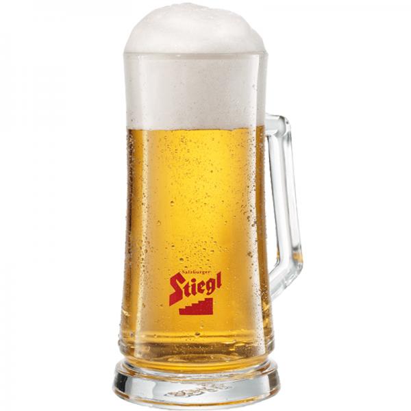 """Bierglas Stiegl """"Krug"""" 0,5 L"""