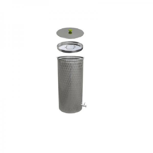 "JUICE KEG with stainless steel ball valve 1/2"", 300 lt"