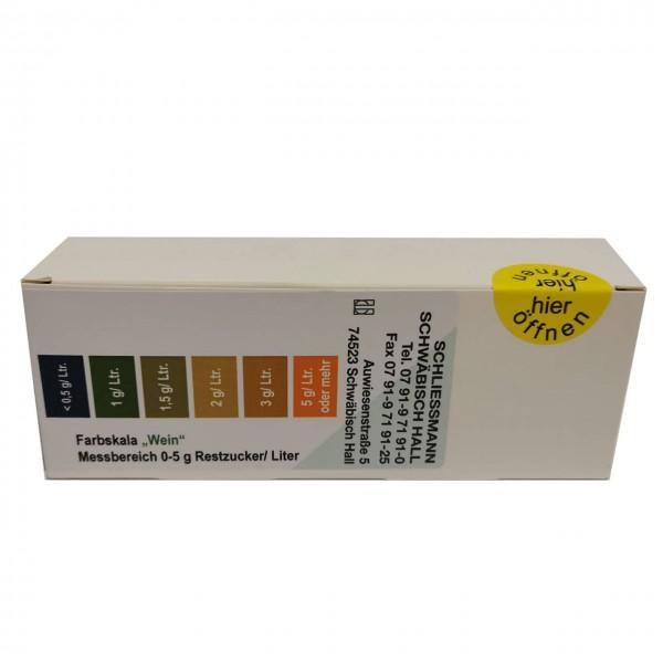 Restzuckertest-Tabl.(Nachf.) 36/Glas (vorm. Clini)