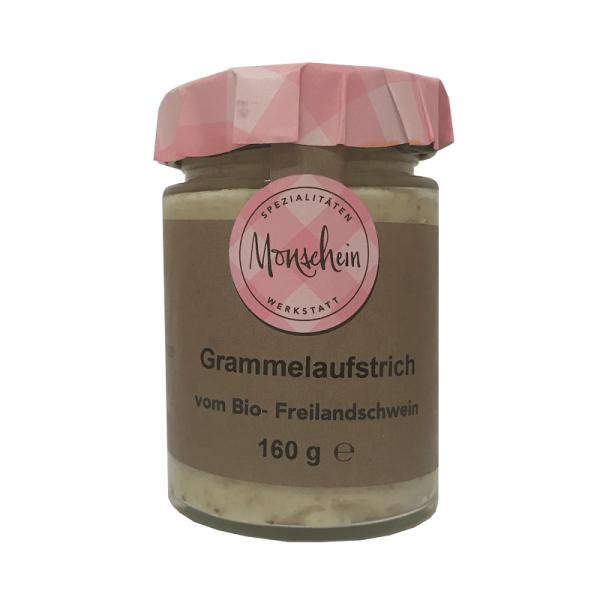 Monschein BIO Grammelaufstrich, 160g