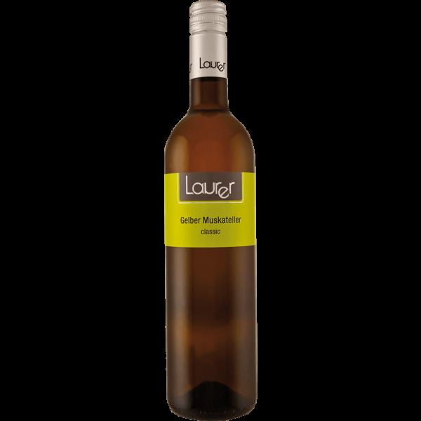 LAURER wine, Gelber Muskateller Classic, 0,75 l
