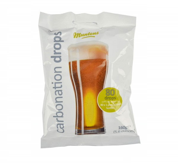 MUNTONS CARBONATION DROPS, 160g