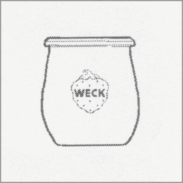 WECK EINKOCHGLAS Tulpenform 220 ml, 12 St. Pkg 762
