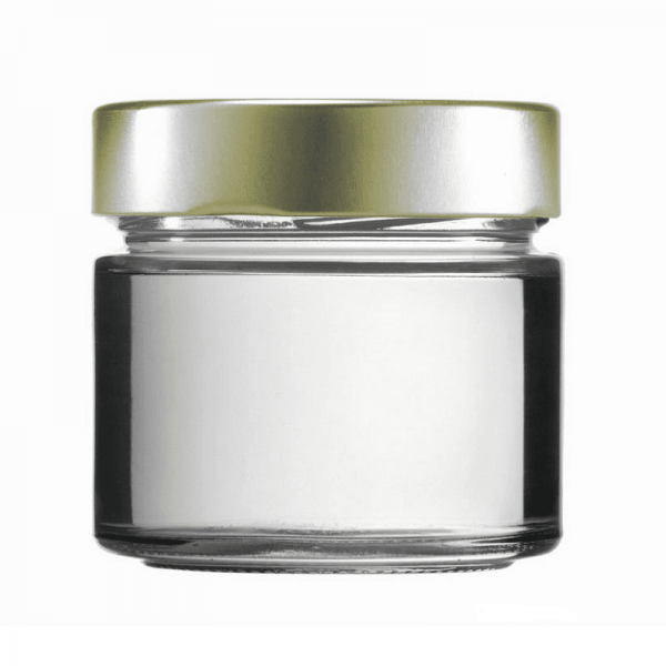 Cylindrical jar FACTUM 212ml, white