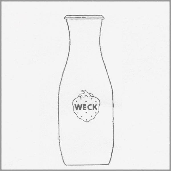 WECK SAFTFLASCHE, 1000 ml, 6 Stk. 766