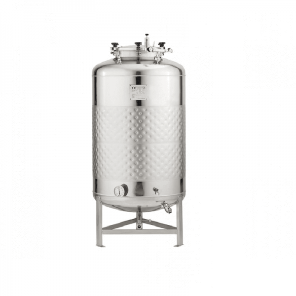 Stainless steel pressure tank 625-litre
