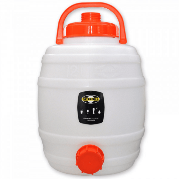 SPEIDEL Fermentation barrel / mash barrel, round,12 lt