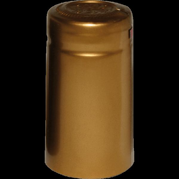 Schrumpfkapsel gold (31/55), m.A, 100 Stk.