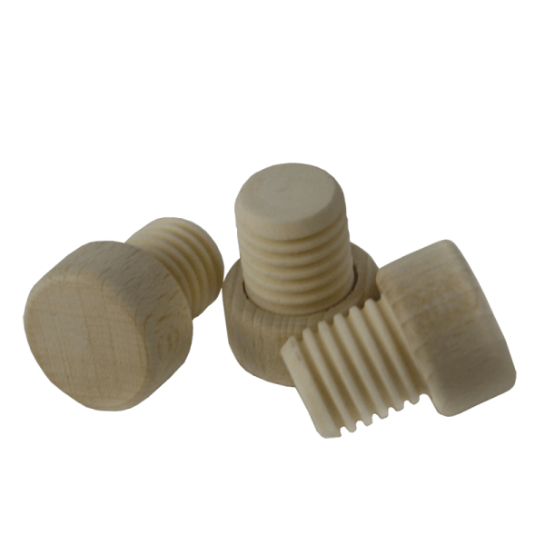 Gripping Corks wooden grip, ribbed, 18mm, 100 pcs.