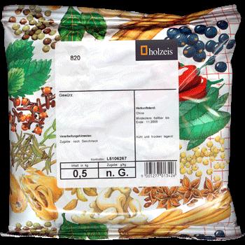 Pepper white grinded, in aroma-bag, 1 kg