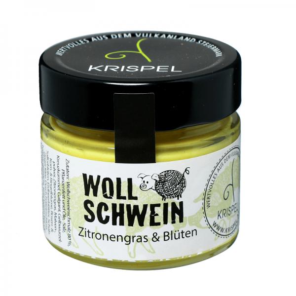KRISPEL Wollschwein Zitronengras & Blüten, 160g
