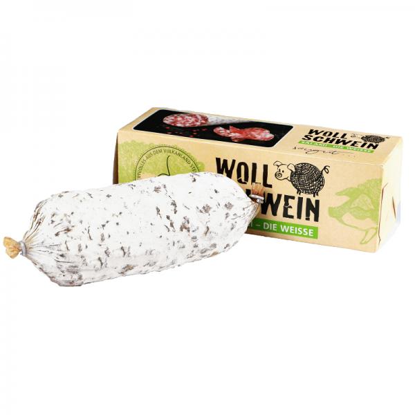KRISPEL Wollschwein Salami, die Weisse, 380g