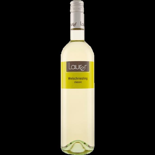 LAURER Wein, Welschriesling Classic, 0,75 l