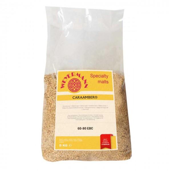 Brewing malt CARA-AMBER, unground, 5 kg