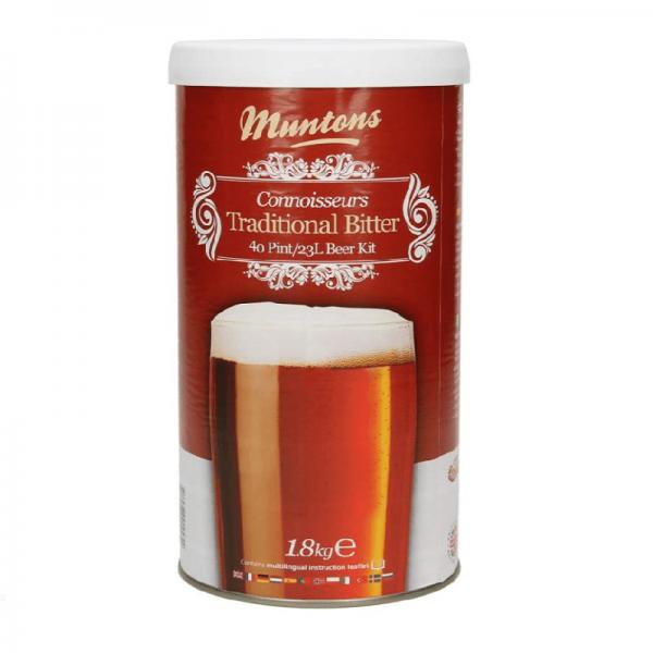 HEIMBRAUSET MUNTONS Traditional Bitter 1,8 kg