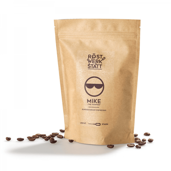 "RÖSTWERKSTATT-COFFEE ESPRESSO ""Mike"", 250 g"