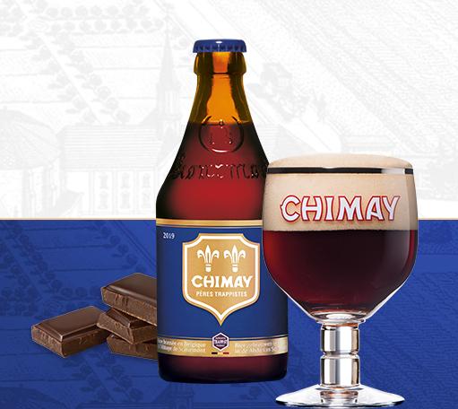 Special beer Chimay Blue Cap