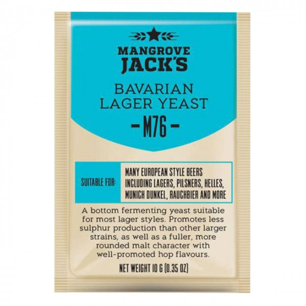 Mangrove Jack's Craft Yeast, Bavarian Wheat 10g