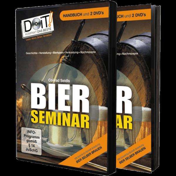 DVD - Conrad Seidls BIER SEMINAR, Handbuch + 2xDVD