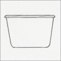 Weck Einkochglas Sturzform 250 ml,6 Stk. Pkg 741
