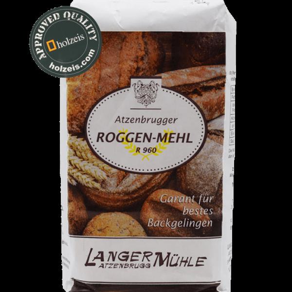 RYE FLOUR AUSTRIA, R960, 1 kg