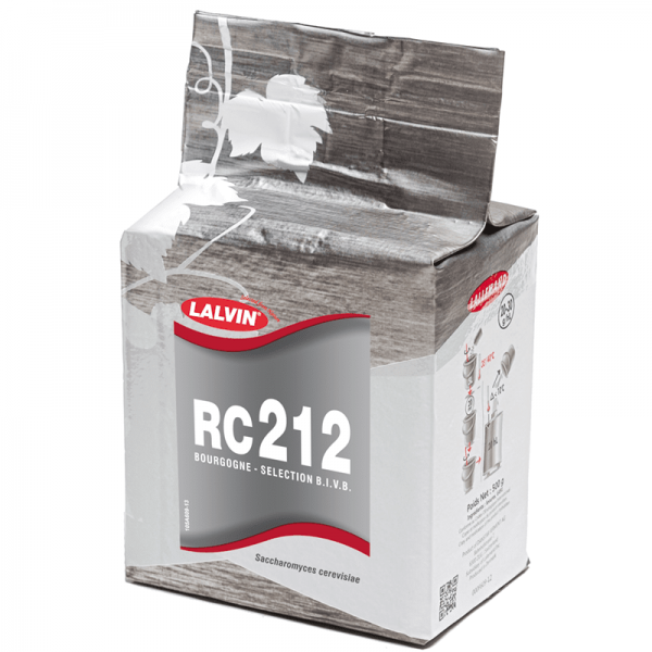 Dry Selected Yeast LALVIN RC 212, 500 g