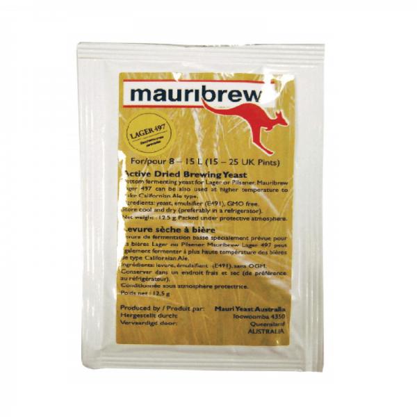 MAURIBREW LAGER Bierhefe ug 12,5g