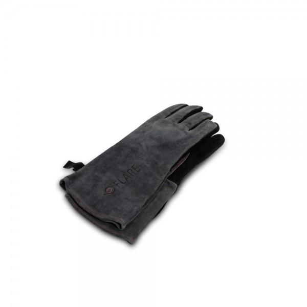 Flare Leder-grillhandschuhe