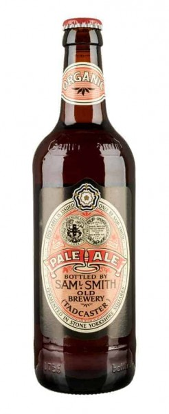 Special beer Samuel Smith Organic Pale Ale