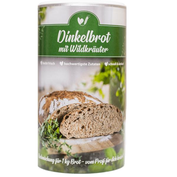 BAKING MIX DINKELBROT wild herbs, for 1kg bread
