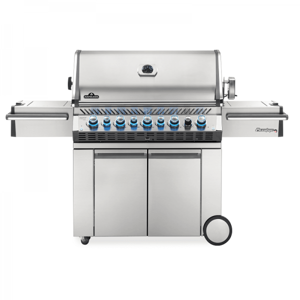 NAPOLEON PRESTIGE PRO®, 665 natural gas, stainless steel, incl. rotating spit