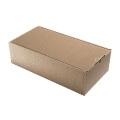 Geschenkkarton Außenwelle, braun H43xB21xT12,5
