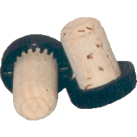 Gripping Cork 19 mm with black plastic cap
