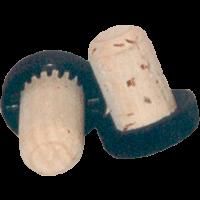 Griffkork 19 mm (schwarz)