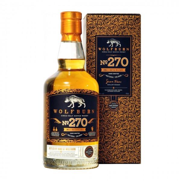 Whisky Wolfburn Batch 270 Whisky