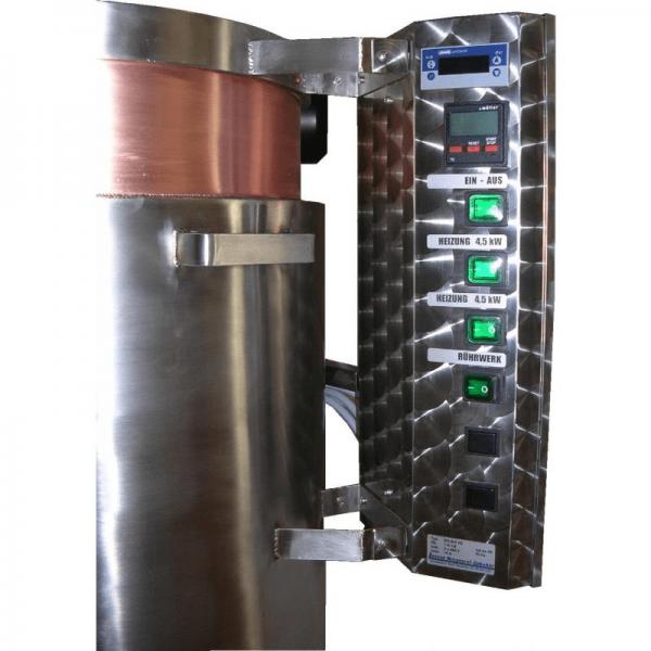 E-HEIZUNGSSTEUERUNG mit Jumo-Thermostat