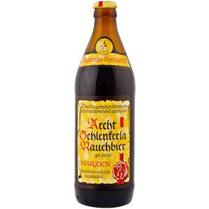 Special beer Aecht Schlenkerla Rauchbier