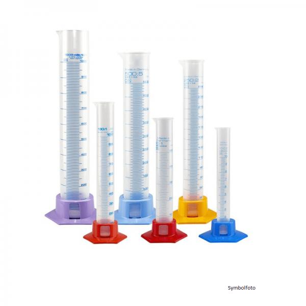 MEASURING CYLINDER plastic, 250 ml grad.