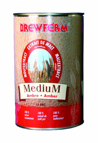 Brewferm Flüssigmalzextrakt medium 1,5kg