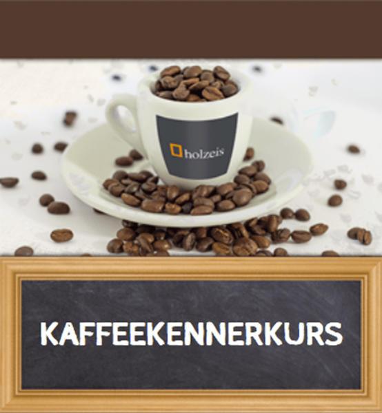 holzeis - KAFFEEKENNER Workshop