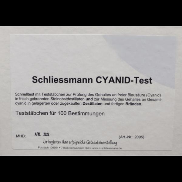 CYANID-Schnelltest, 100 Stäbchen