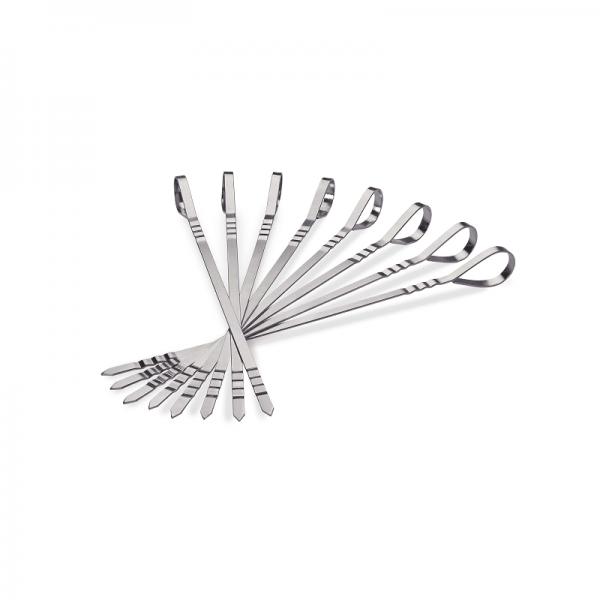8 pc Stainless Steel Multi-Functional Skewers
